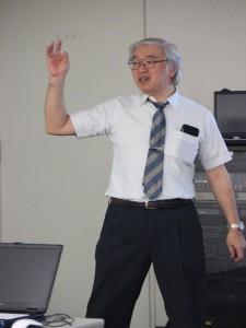 道都大学教授の由水伸さん