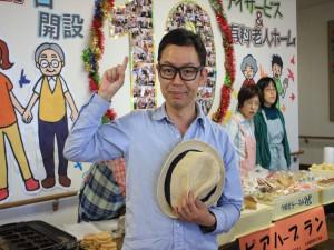 地元の落語家、桂三段さんも訪れました