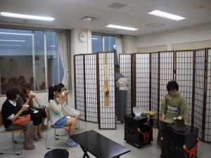 日本の伝統文化を味わうお茶席