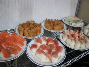 一緒につくったお寿司