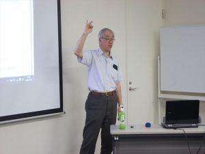 講師の由水伸さん