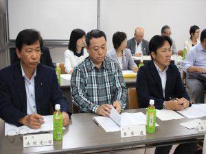 清田区選出の道議、市議も総会に参加