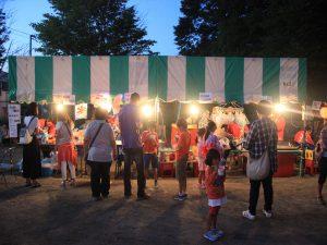 清田東町町内会子ども会の出店