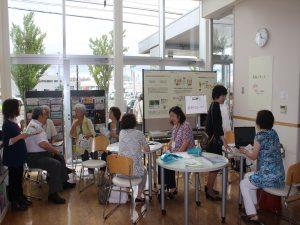 日本医療大学の林美枝子教授による看取りコーナー