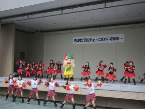 清田キッズダンス、きよっちと踊る