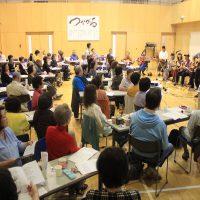 青春が蘇る。フォークソングの集い=9月22日、里塚・美しが丘地区センター