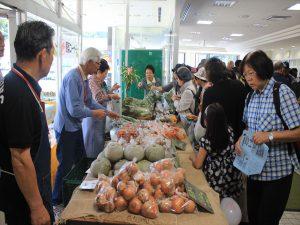 有明・川瀬農園が野菜販売