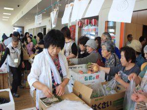 毎年、人気の野菜果物販売