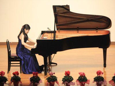永沼絵里香さんのピアノソロ