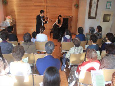 教会で行われたクラシックコンサート