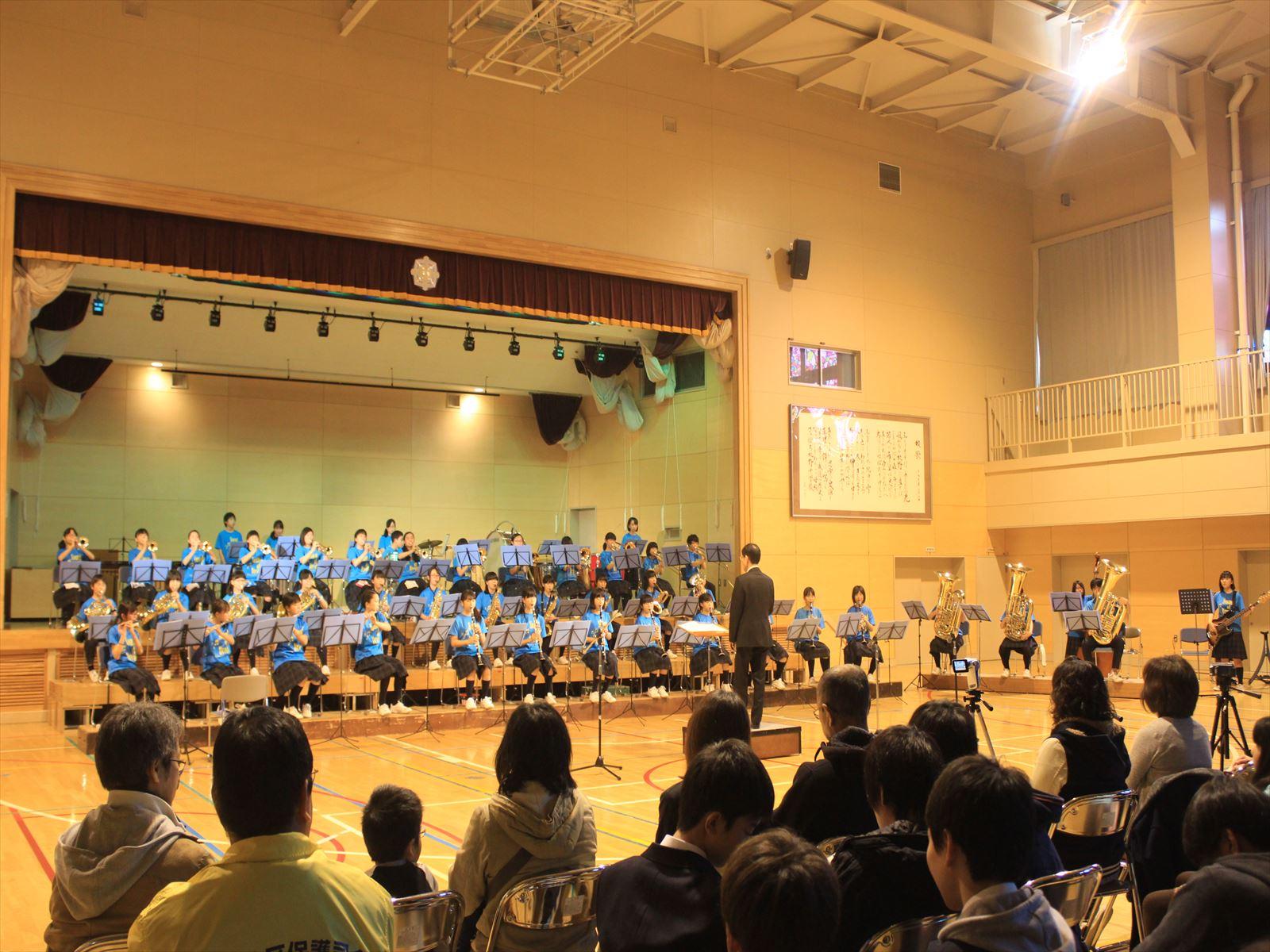清田中学校吹奏楽部定期演奏会