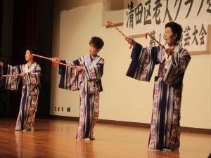 北野ふれあい友の会の歌謡舞踊